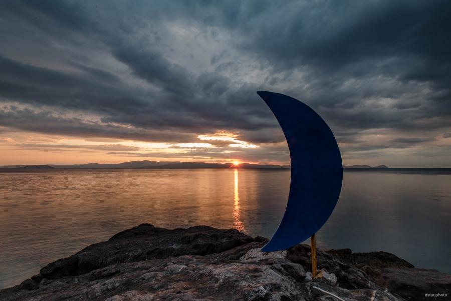 Where the Sun meets the Moon