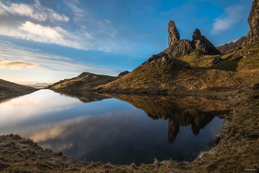 Old Man of Storr reflection