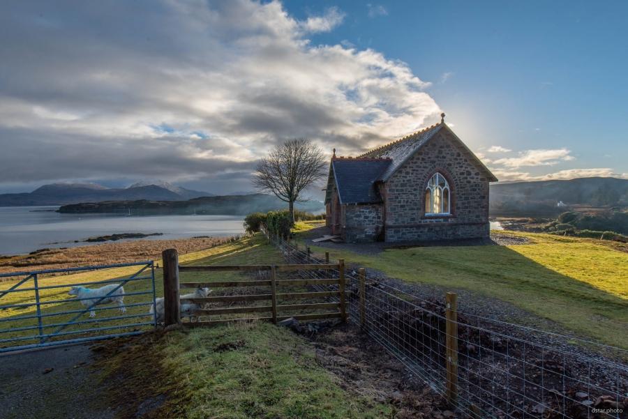 The chapel in Isleornsay