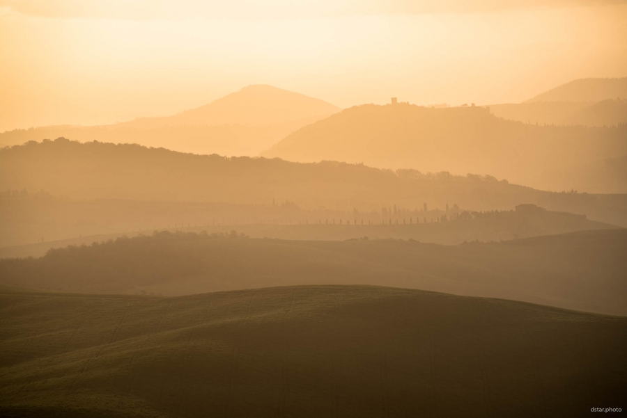 Golden light of Tuscany