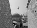 View from the window of Hagia Sofia