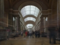 People and Louvre
