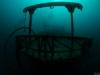 Sunken fishing boat